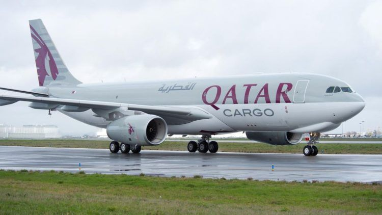 Qatar Airways Airbus A330 200f Cargo Copyright