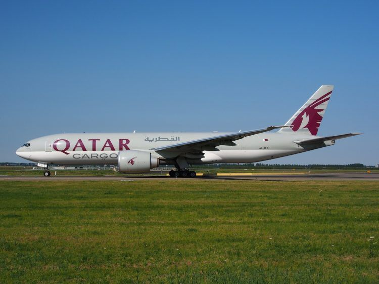 Qatar Airways Boeing 777f Cargo