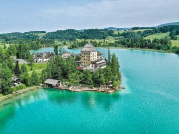 Schloss Fuschl Exterior View Aktivitaeten Copyright