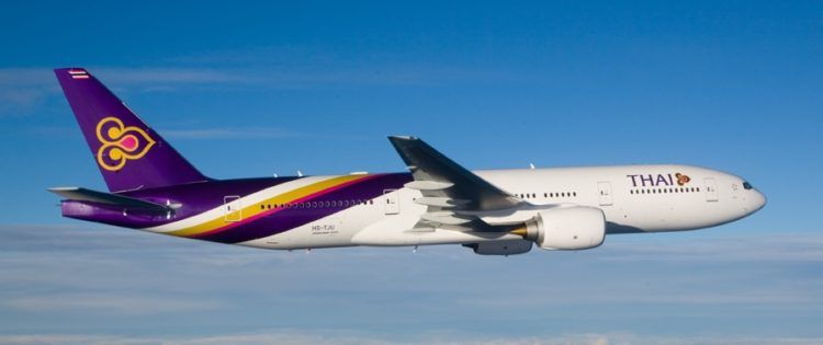 Thai Airways Boeing 777 200er Copyright