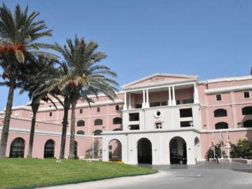 The Westin Dragonara Resort Malta Auffahrt