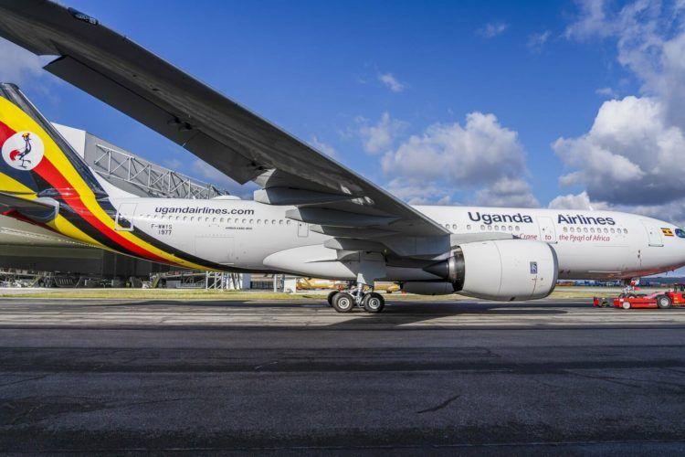 Uganda Airlines Airbus A330 800 Neo Copyright