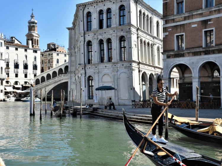 Venedig Rialtobruecke