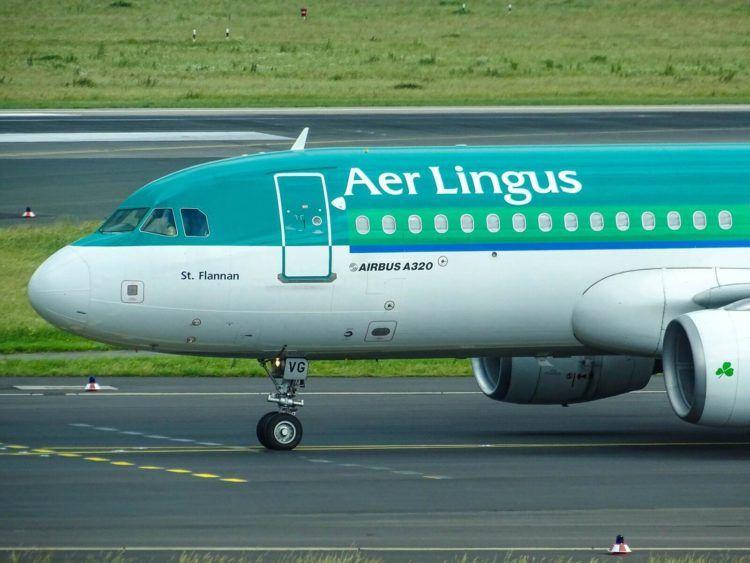 Aer Lingus Airbus A320 Unsplash