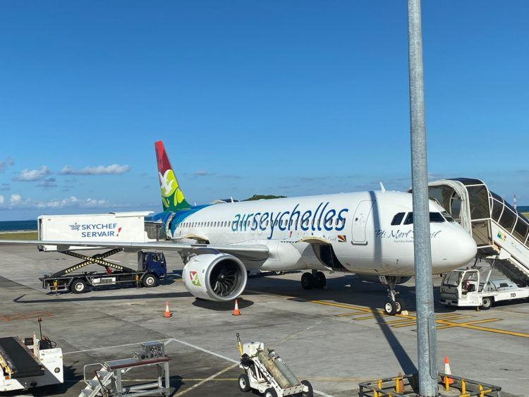 Air Seychelles Airbus A320neo Pti Merl Dezil Seychelles Warbler