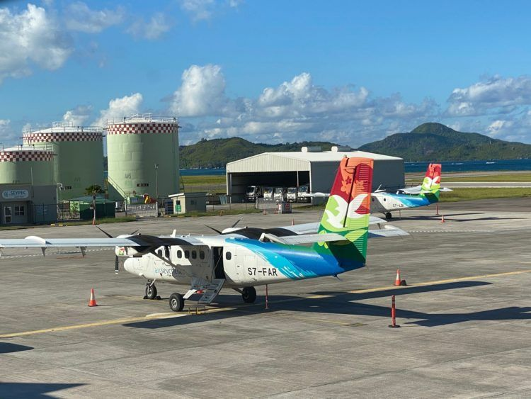 Air Seychelles Viking Dhc 6 400 Twin Otter
