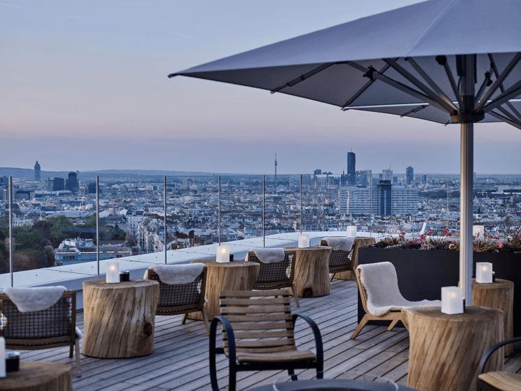 Andaz Vienna Aurora Rooftop Bar Copyright
