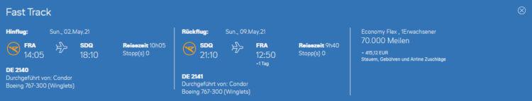 Condor Frankfurt Santo Domingo Miles And More Praemienflug