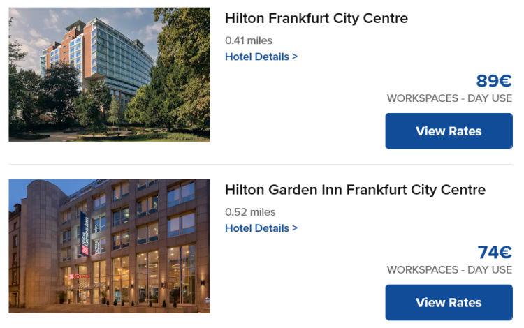 Hilton Workspaces Frankfurt