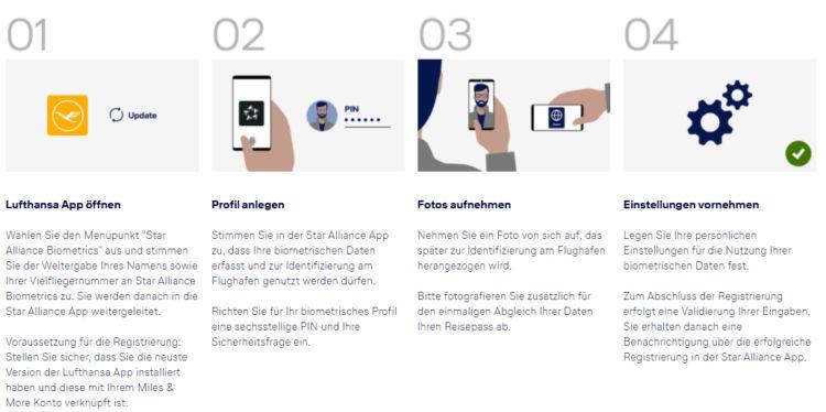 Star Alliance Biometrics Anmeldung