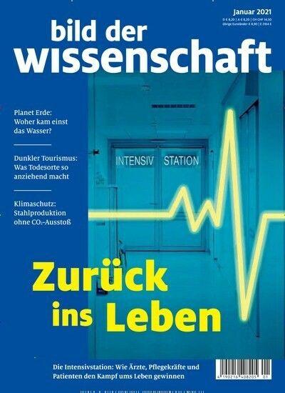 Bild Der Wissenschaft Cover Dezember 2020