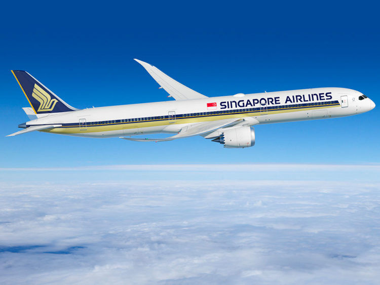 Boeing 787 10 Singapore Airlines Copyright