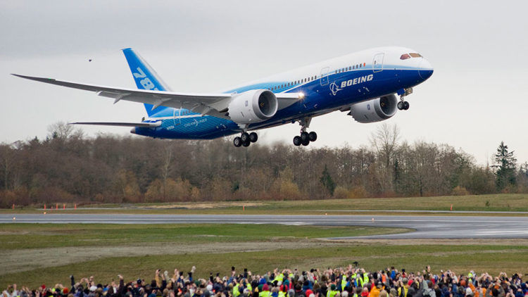 Boeing 787 8 Erstflug Copyright
