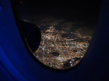 British Airways Business Class A350 1000 Blick Toronto