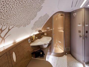 Emirates Neue First Class Dusche Copyright