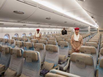 Emirates Neuer A380 Economyclass Copyright