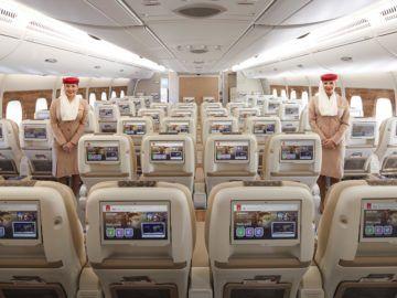 Emirates Premium Economy Class Kabine Copyright