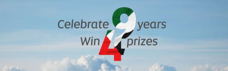 Etihad Airways Gewinnspiel Nationalfeiertag