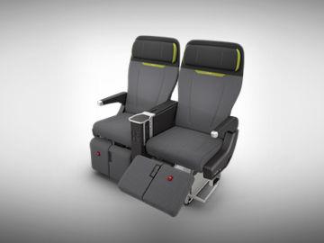 Recaro Premium Economy Sitz Pl350 Von Vorne Copyright