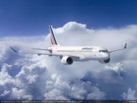 Air France Airbus A220 300 Rendering Copyright