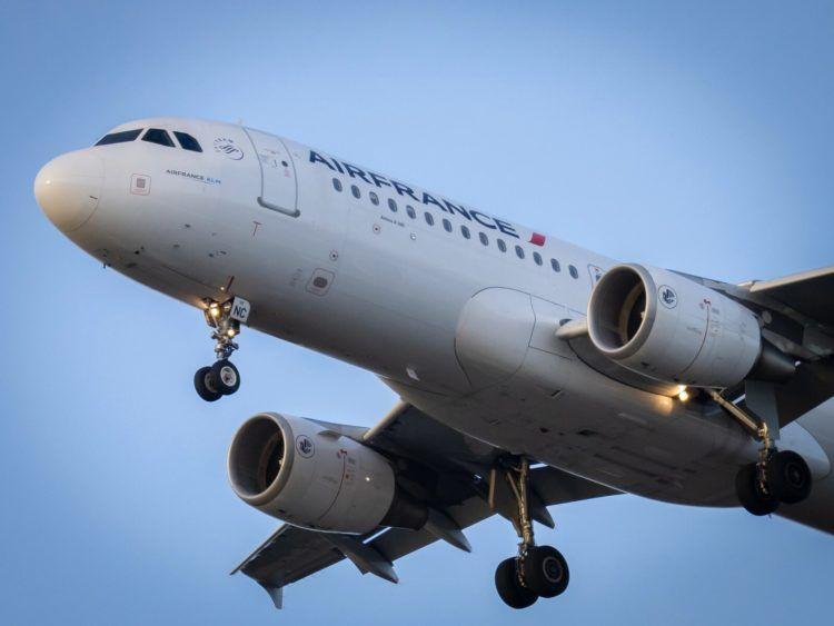 Air France Airbus A320 Unsplash