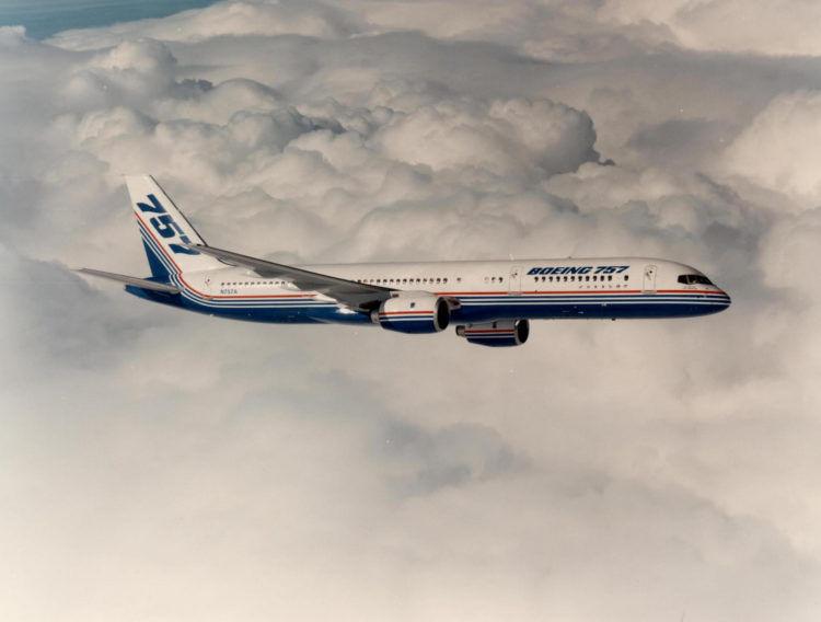 Boeing 757 200 Erstflug Copyright Boeing