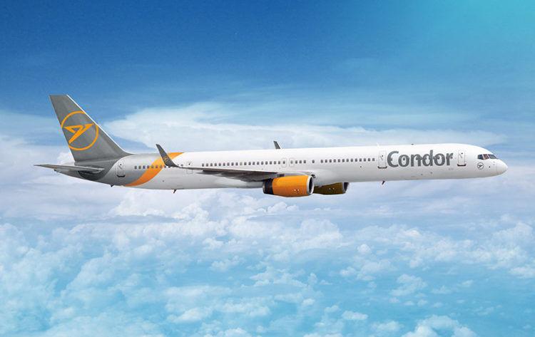 Condor Boeing 757 300 Copyright Condor