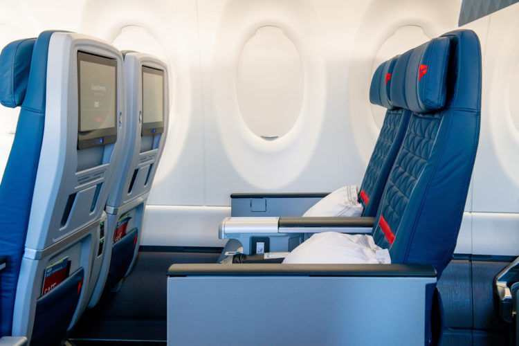 Delta Airlines A220 300 First Class Copyright