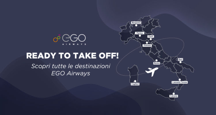 Ego Airways Streckennetz