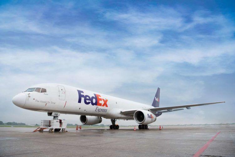 Fedex Boeing 757 Frachter Copyright Fedex