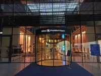 Hilton Frankfurt Airport Eingang