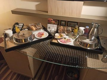 Hilton Frankfurt Airport Fruehstueck Auf Dem Zimmer