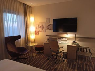 Hilton Frankfurt Airport King Hilton Executive Room Schreibtisch