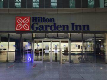 Hilton Garden Inn Frankfurt Airport Eingang