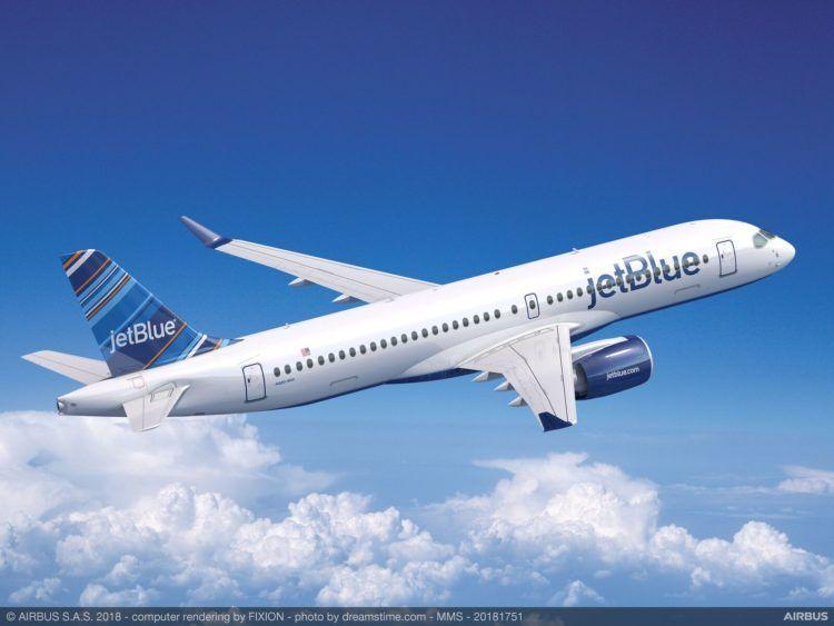 Jetblue Airbus A220 300 Copyright