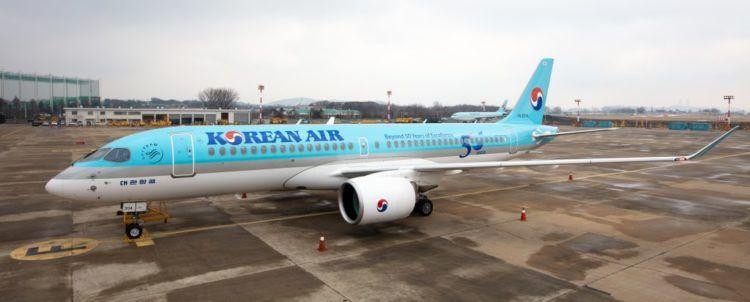 Korean Air Airbus A220 300 Copyright