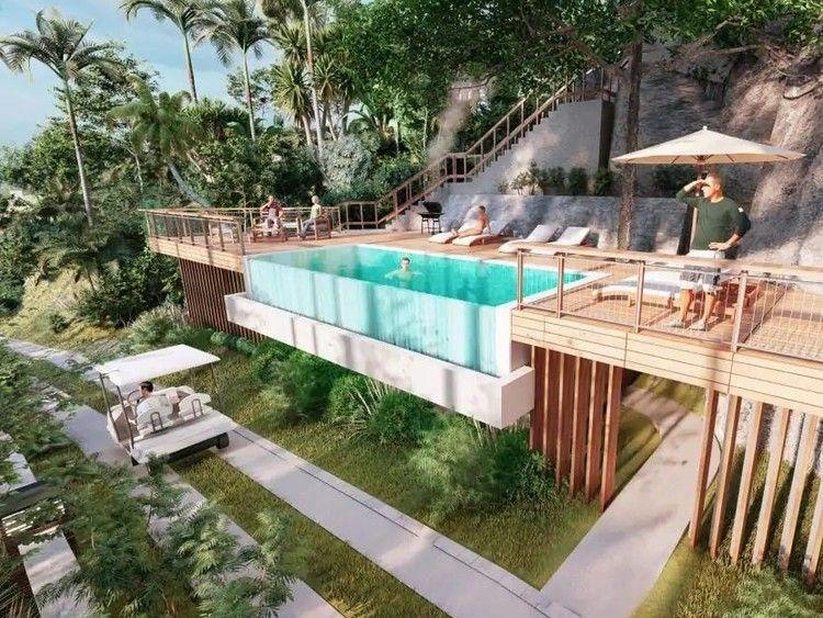 Mango House Seychelles Pool Copyright