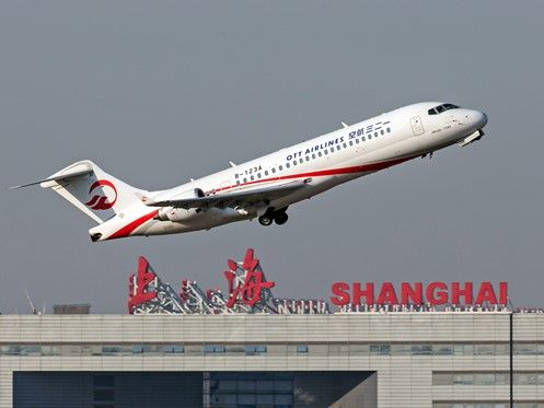 Ott Airlines Comac Arj21 Copyright