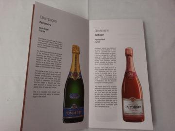 Qatar Airways Qsuite B777 300er Corona Weinkarte Champagner
