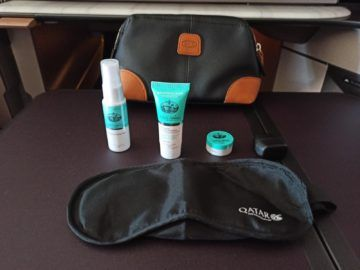 Qatar Airways Qsuite Corona Amenity Kit