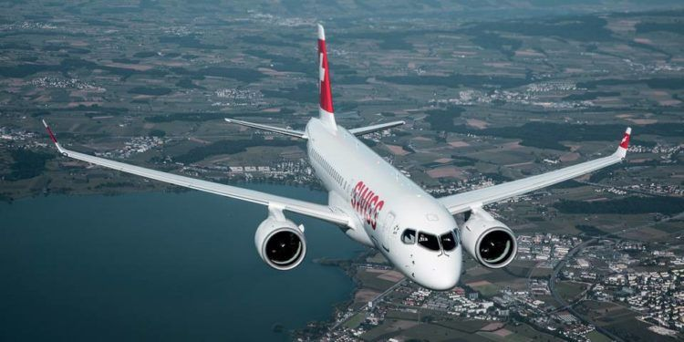Swiss Airbus A220 100 Copyright