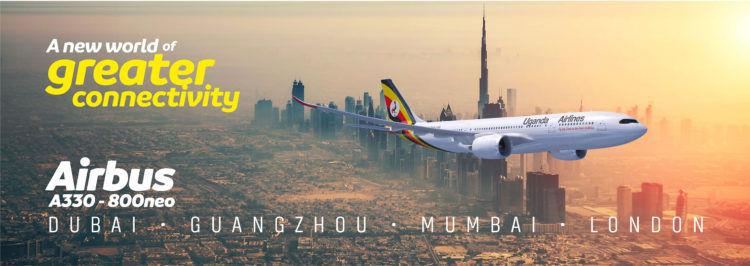 Uganda Airlines A330 800