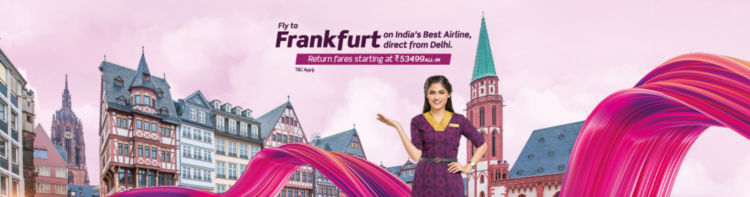 Vistara Fliegt Ab Februar Frankfurt Delhi