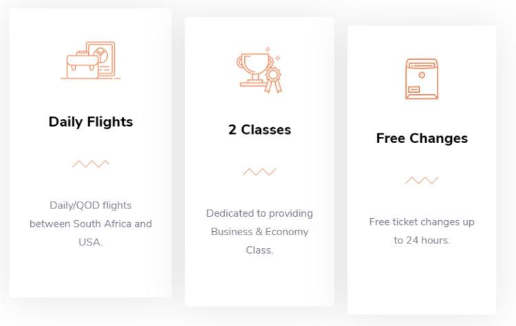 Rahmendaten von Webclift Airways