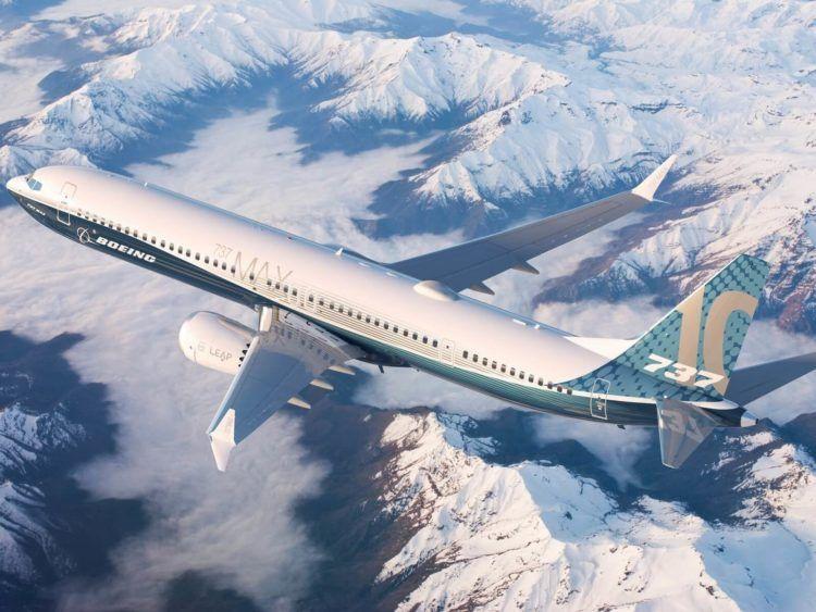Boeing 737 Max 10 Copyright