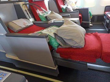 Ethiopian Airlines Business Class B767 300er Bett Obererteil