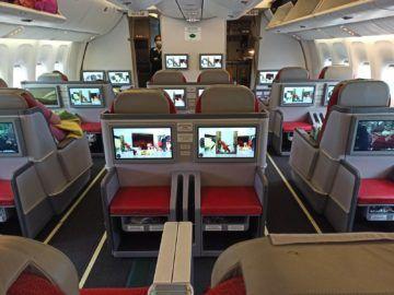 Ethiopian Airlines Business Class B767 300er Kabine Komplett