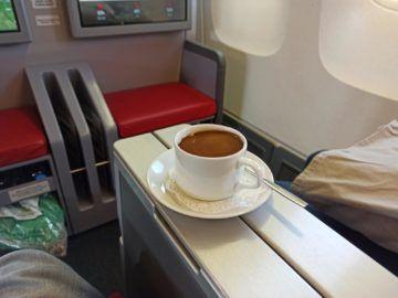 Ethiopian Airlines Business Class B767 300er Kaffee