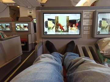 Ethiopian Airlines Business Class B767 300er Laenge