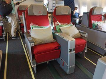 Ethiopian Airlines Business Class B767 300er Mittelreihe